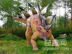 世界上最笨的恐龙-剑龙